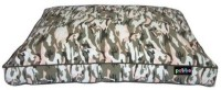 Petto Rectangle Cotton Canvas Bed For Dog, Medium Size M Pet Bed(Camouflage Print)