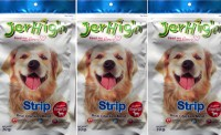 JerHigh Strip Chicken Dog Chew(70 g, Pack of 3)