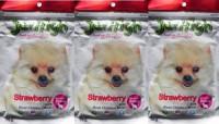 JerHigh Strawberry Chicken Dog Chew(70 g, Pack of 3)