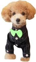 Futaba Fashion Dog Bowknot Tie - Green Embellished Dog Collar Charm(Green, Other)