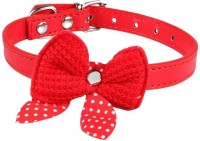Futaba 421 Red Collar Embellished Dog Collar Charm(Red, Other)
