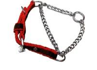 Agnpetspot. Martingale cotton 0.5 inch Plain Dog Collar Charm(Multicolor, Round)