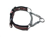 Agnpetspot. Martingale cotton 1.5 inch Plain Dog Collar Charm(Multicolor, Round)