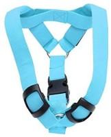 Futaba Dog Reflective and LED Harness(Large, Blue)