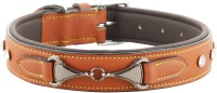 Hill $ Oliver Dog Everyday Collar(Extra Large, TAN BROWN)