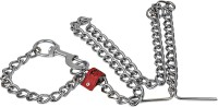 TommyChew Master Dog Choke Chain Collar(Extra Large, Silver)