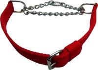 Golddust 1inch Dog Harness & Chain(55 - 76 cm, Red)