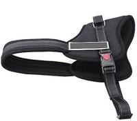 Futaba Heavy Duty Pet Pulling Dog Safety Harness(Medium, Black)