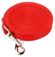 Futaba Dog Harness & Leash(Medium, Red)