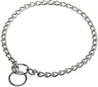 Kristal Jumbo Dog Dog Collar & Chain(Large, Silver)