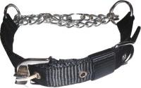Suraj Chains Dog Collar & Leash(Medium, Black)