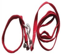 Bow! Wow !! Dog Collar & Leash(Small, Red)