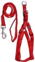 Pet Club51 Dog Standard Harness(Medium, Red)