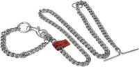 TommyChew Master Dog Choke Chain Collar(Large, Silver)