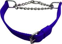 Golddust 1inch Dog Harness & Chain(55 - 76 cm, Blue)