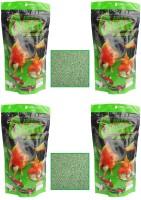 Osaka Green-1 Mini Pellet (100g Each Pack of 4 Pcs) | Spirulina Enhanced Formulation | 400 g Dry Fish Food(Pack of 4)