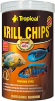 Tropical Krill Chips| Sinking Type (Super Tasty Food For FreshWater & Marine Fishes) | 250 ml Dry Fish Food