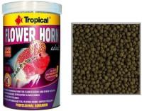 Tropical Flower Horn Adult 380g/1000ml | Super Colour Enhancer | Hi-Pro, Hi-Energy, Low-Carb 1000 ml Dry Fish Food