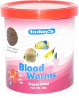 Today's Blood Worm 10g Fish 10 g Dry Fish Food