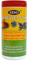 Siso Large Pellet For All Big Fishes & All Kinds of Turtle 1000g/2200ml | Protein-Rich FISH FOOD | Multi-Minerals Fully Additive | 1000 g Dry Fish Food