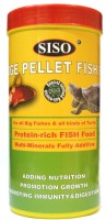 Siso Large Pellet For All Big Fishes & All Kinds of Turtle 450g/1000ml | Protein-Rich Multi-Minerals Fully Additive | 450 g Dry Fish Food