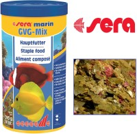 Sera Marin GVG-Mix 210g/1000ml | Marine Treat Mix With Tasty Morsels | Naturally Rich in Iodine For Lively Healthy 1000 ml Dry Fish Food