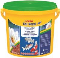 Sera Koi Royal Mini 900g/2lb | Staple Diet For All Koi | Strengthens The Immune System With 4% Wheat Germ For Optimal Development | 900 g Dry Fish Food