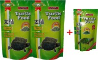 Taiyo Turtle Food 2x100gm + 50gm Pouch 250 g Dry Turtle Food(Pack of 3)