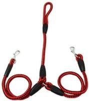 Futaba 140 cm Dog Cord Leash(Red, Black)