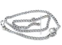 Scoobee 152 cm Dog Chain Leash(Silver)