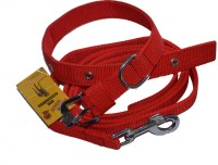 Bow! Wow !! Dog Collar & Leash(20 - 30 cm, Peppy Red)