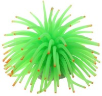 Creative Spinach Green Sea Anemone Silicone Rubber Toy For Fish
