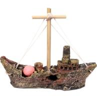 Ship Fiber Plush Toy For Fish