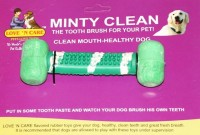 Love N Care Minty Clean - Small Rubber Tug Toy For Dog