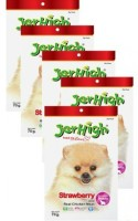 JerHigh Strawberry Fruity Stick Combo Chicken, Fruit Dog Treat(70 g)
