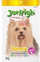 JerHigh Banana Chicken Dog Treat(70 g)