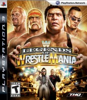 WWE Legends of Wrestlemania(for PS3)