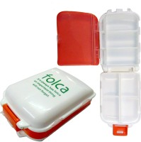Aokeman 1 week Pill Box(Orange)