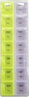 Evergreen 1 week Day and Night Manual Pill Box(Multicolor) - Price 143 42 % Off