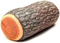 BonZeal Wood Bolster Pack of 1(Brown)