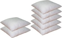 Lushomes Plain Back Cushion Pack of 7(White)