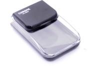 CHROME Sleek Small Pin Clip Dispenser(Black, 100 Pins)