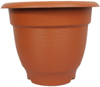 Easy Gardening 16 Inch Elegance Plant Container Set(Pack of 3, Plastic)