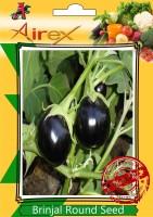 Airex Brinjal Round Seed(15 per packet)