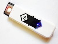 View Bs Spy Flameless Rechargeable MKDE1 Cigarette Lighter(White) Laptop Accessories Price Online(Bs Spy)