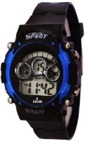 Rokcy Analog Digital Smart Watch Multi Color Dial Sports Watch for Kids Blue(Blue)