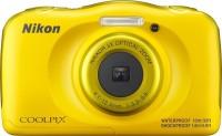 NIKON COOLPIX W100(13 MP, 3x Optical Zoom, 4x Digital Zoom, Yellow)