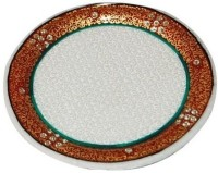 Shreeng Puja Marble Thali Marble(1 Pieces, Multicolor)