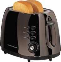 Hamilton Beach Black Ice Metal 2 Slice 900 W Pop Up Toaster(Black)