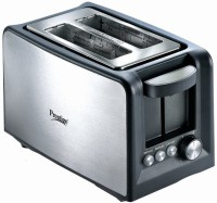 Prestige 41708_PPTSKB 800 W Pop Up Toaster(Silver, Black)